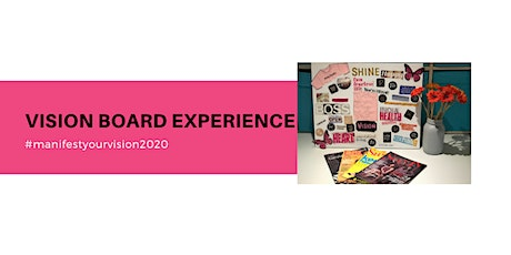 Vision Board Experience tickets