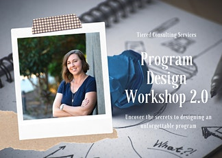 Program Design Workshop 2.0 tickets
