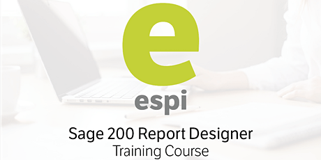 Sage 200 Report Designer - One Day Course tickets