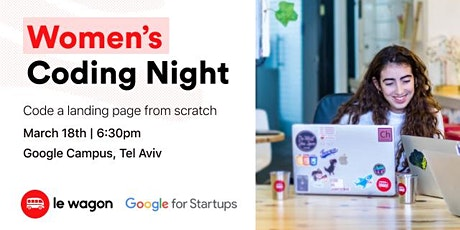 FREE: Women's Coding Night with Le Wagon tickets