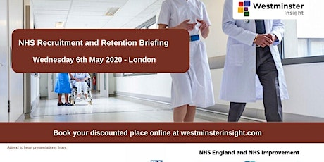 NHS Recruitment and Retention Briefing tickets