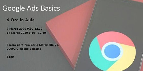 Google Ads Basics tickets