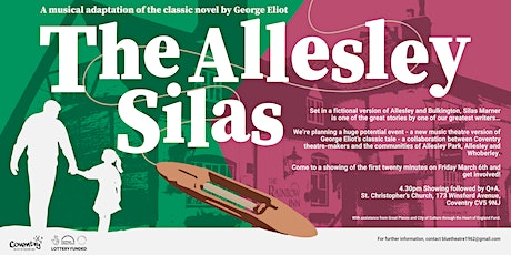 'The Allesley Silas' (20 minute showcase with Q+A) tickets