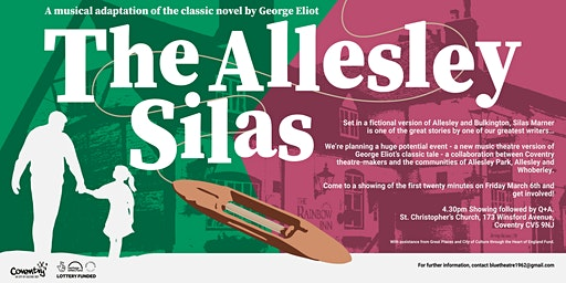 'The Allesley Silas' (20 minute showcase with Q+A)