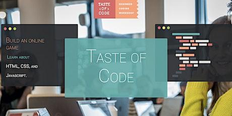 Taste of Code at Codaisseur  tickets