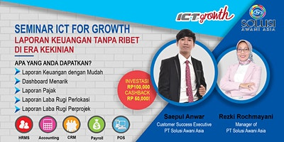 {PAID EVENT} ICT for Growth: Laporan Keuangan Tanp