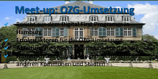 Meetup: OZG Umsetzung und Digitale Transformation von Städten und Kommunen