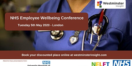 NHS Employee Wellbeing Conference tickets
