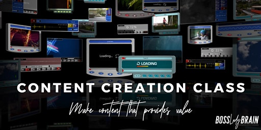 Content Creation Class