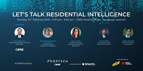 Let's Talk Residential Intelligence entradas