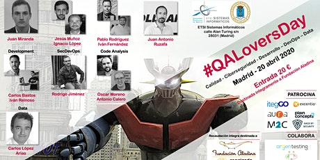 QALovers Day - Abril 2020 entradas