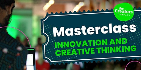 Masterclass Innovatie & Creatief denken tickets