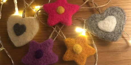 Needle Felting Taster Session - Christmas Hanging Decoration tickets