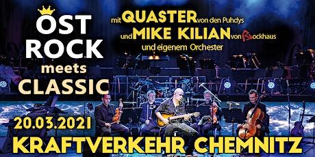 Ostrock meets Classic // Kraftverkehr Chemnitz Tickets