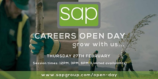 Careers Open Day 2020 at SAP Landscapes - 3PM Session