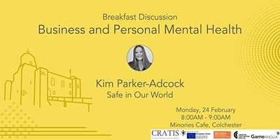 Cratis Breakfast Discussion - Business and Personal Mental Health