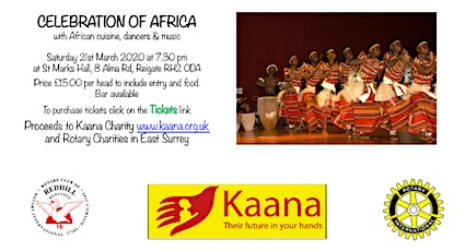 Celebration of Africa tickets