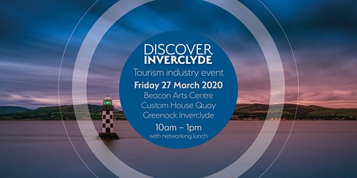 Discover Inverclyde tourism industry event