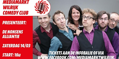 MediaMarkt Wilrijk Comedy Club: De Nonsens Alliantie tickets
