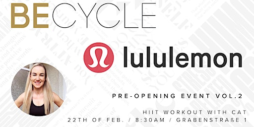 BECYCLE meets lululemon Vol.2