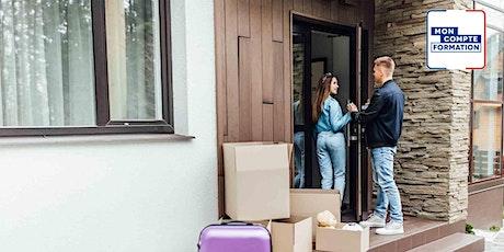 Formation en immobilier - La gestion locative tickets