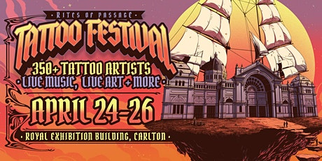 Rites of Passage Tattoo Festival - Melbourne 2020 tickets
