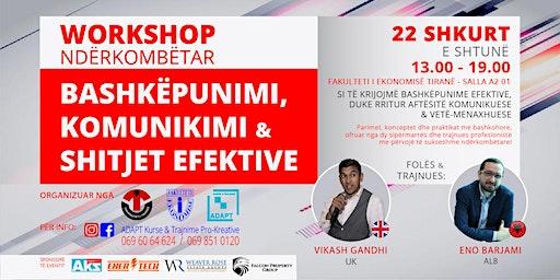 Bashkëpunimi, Komunikimi & Shitjet Efektive