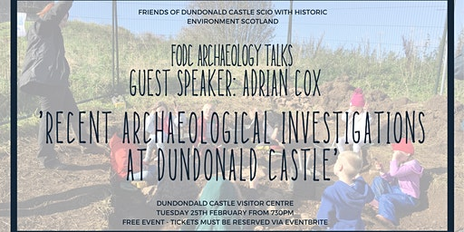 FODC Archaeology Talks - Guest: Adrian Cox