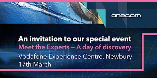 Meet the Experts - A day of discovery