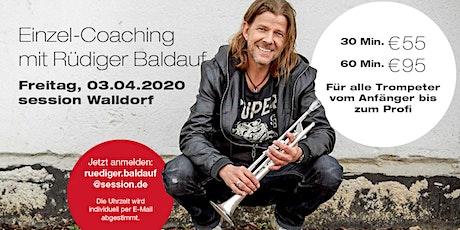 Trompeten-Coaching mit Rüdiger Baldauf Tickets