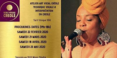 ATELIER ART VOCAL CREOLE - Par Maddy Orsinet