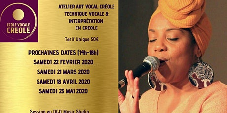 ATELIER ART VOCAL CREOLE - Par Maddy Orsinet billets
