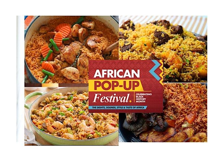 African Popup Festival 2020 - Celebrating Black History Month image