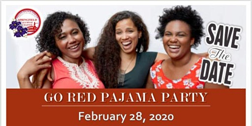 Go Red Pajama Party