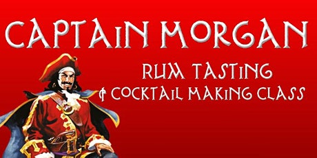 Captain Morgan Rum Tasting & Cocktail making class tickets