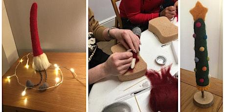 Needle Felting Workshop - Christmas Nisse or Christmas Tree tickets