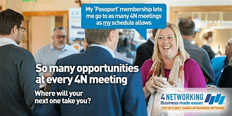 4N Business Networking Lunch Edinburgh City Centre 28th Feb 2020 tickets