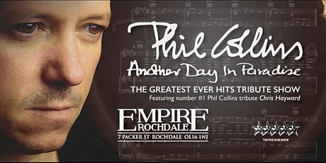 PHIL COLLINS - Another Day In Paradise Tribute Show tickets