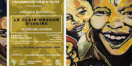 Exposition ÉZÉCHIEL N'GORAN : Finissage