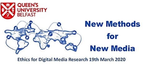 Ethics for Digital Media Research tickets