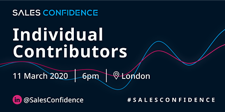 Sales Confidence - [Individual Contributors Only] B2B SaaS Sales Evening tickets