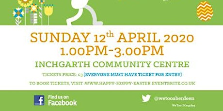 Happy, Hoppy Easter Party for Additional Support Needs Participants tickets