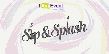 Sip & Splash tickets
