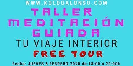 Taller Meditación Guiada. Tu Viaje Interior con Koldo Alonso en BILBAO