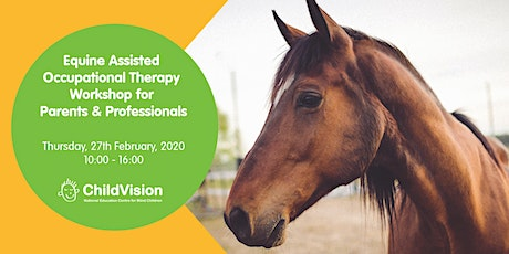 Equine Assisted Occupational Therapy  Workshop for Parents & Professionals tickets