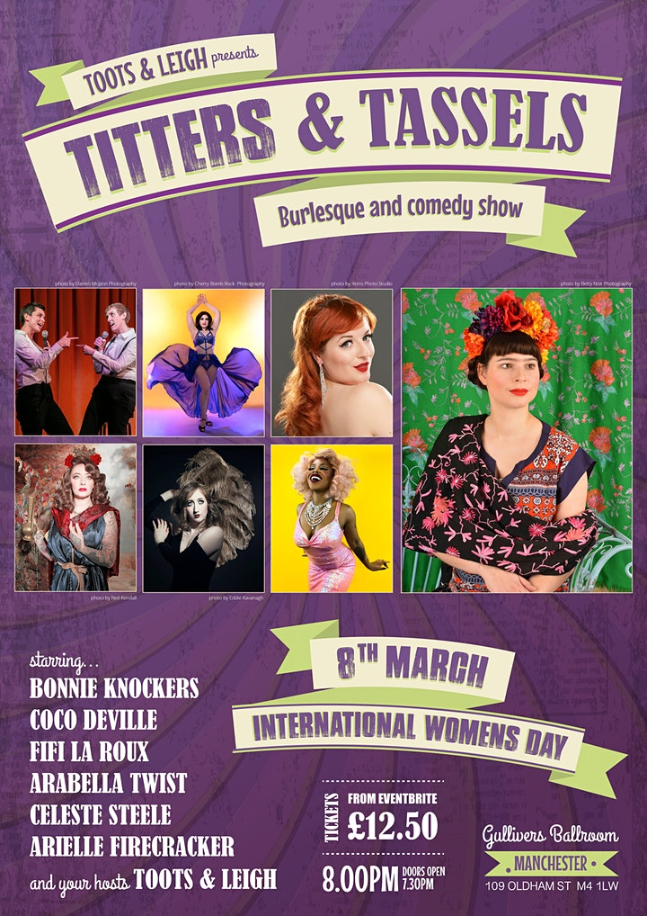 Titters and Tassels 8th March 2020 image
