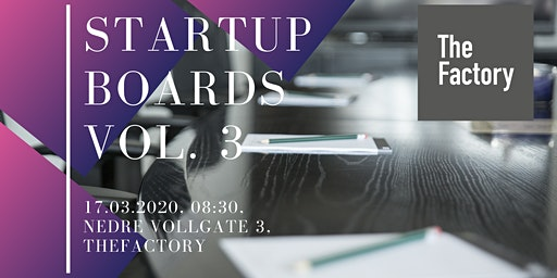 Startup Boards Vol. 3