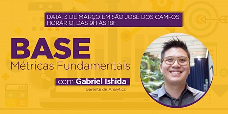 BASE - Métricas Fundamentais - SJC ingressos