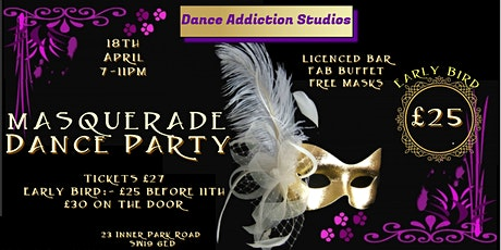 Masquerade Dance Party tickets