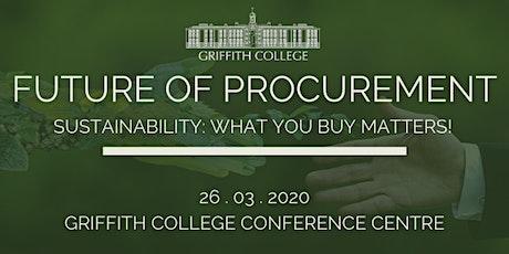 Future of Procurement tickets
